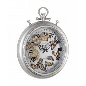 Orologio Parete Engrenage Grigio D40