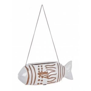 C.Vaso Sospeso Pesce Pagliaccio Bianco