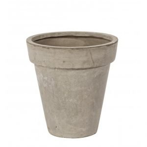 Vaso Cement Classico Sabbia 38H