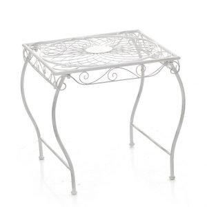 Tavolino Zarina Bianco Antico